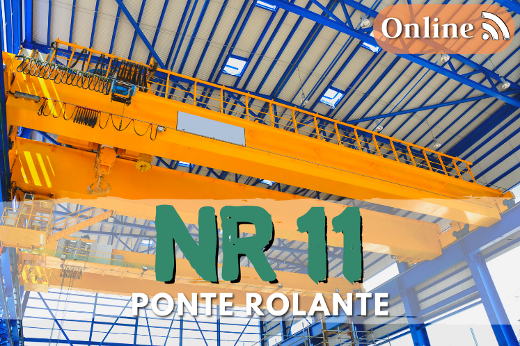 Curso nr 11 online – segurança na operação de ponte rolante