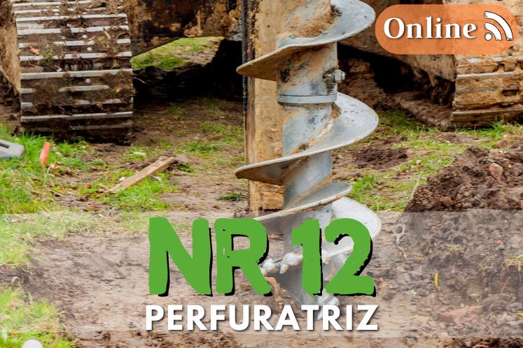 Curso NR 12 online – Perfuratriz