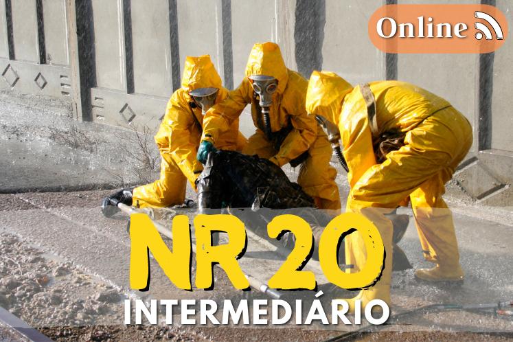 Curso NR 20 online – Líquidos inflamáveis – Intermediário