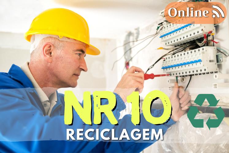 Curso NR 10 online – Reciclagem – 8h