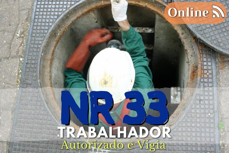 Curso NR 33 – Trabalhador Autorizado e Vigia -16h