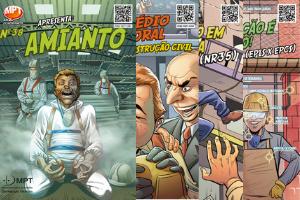 Historias em Quadrinhos sobre SST