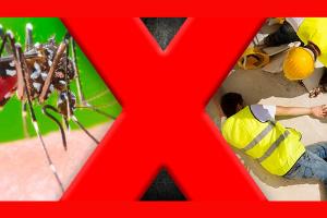 Dengue mata mais ou acidentes de trabalho?