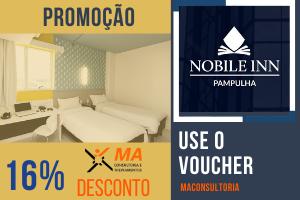 Garanta 16% de desconto no hotel nobile inn pampulha