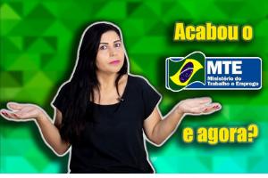 Fim do MTE confirma Bolsonaro