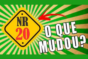 MUDANÇAS NA NR20 – CURSO EAD.