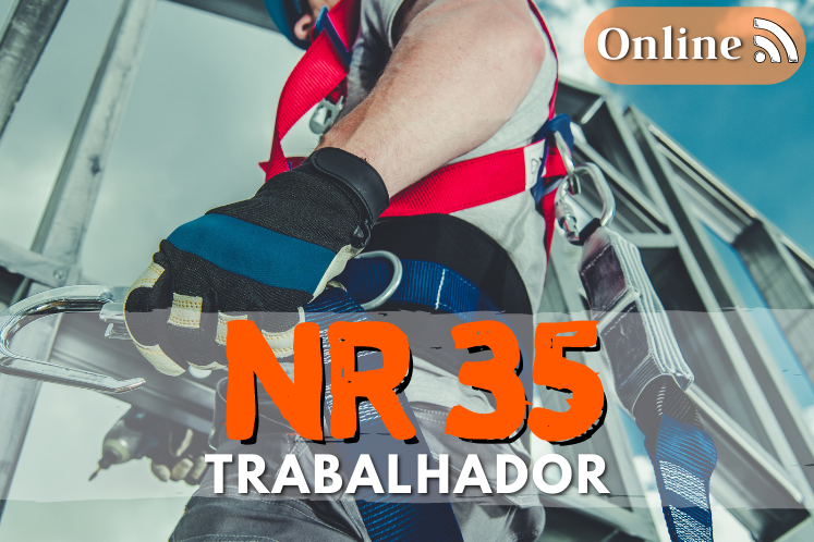 Curso NR 35 online – Trabalhador – 8h